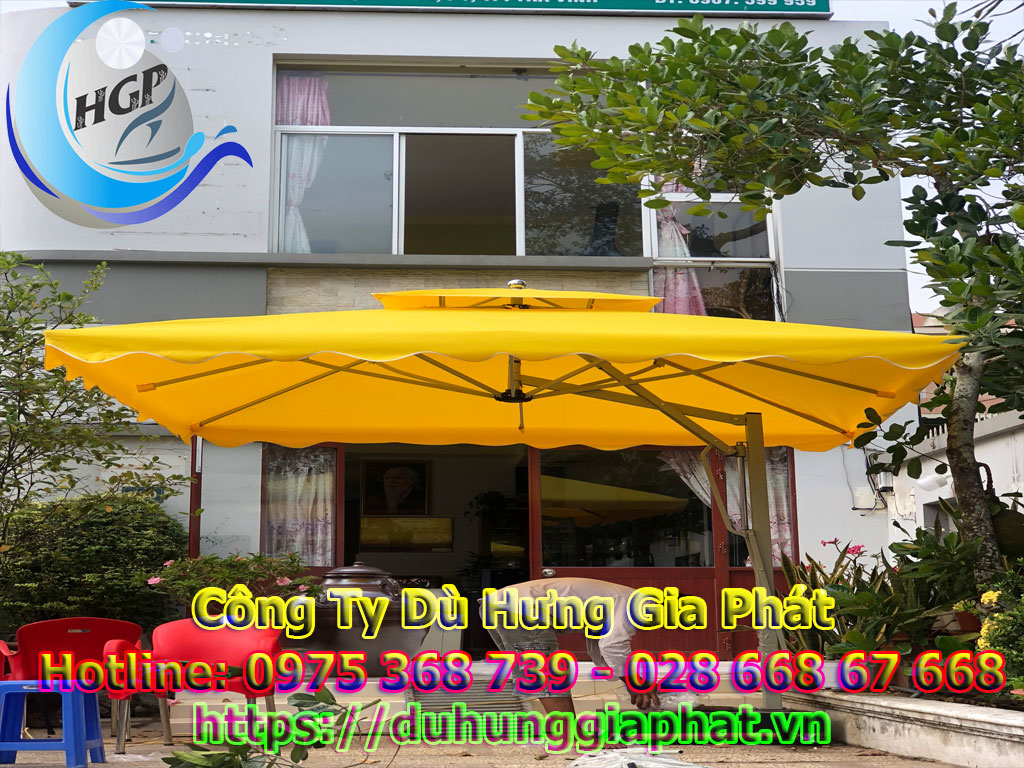 Mẫu Dù Che Quán Cafe Giá Rẻ Đẹp Nhất Tại TPHCM
