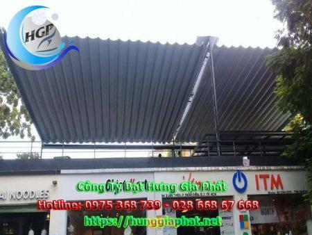 Báo giá bạt mái xếp lượn sóng 2021